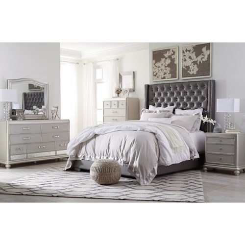 Signature Design by Ashley Coralayne Queen Bedroom Group