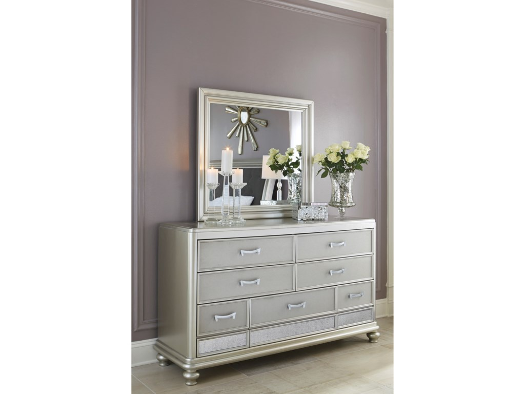 Signature Design by Ashley CoralayneDresser & Bedroom Mirror