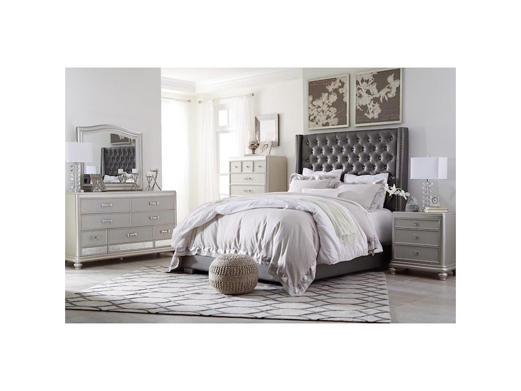 Signature Design by Ashley CoralayneKing Upholstered Bed