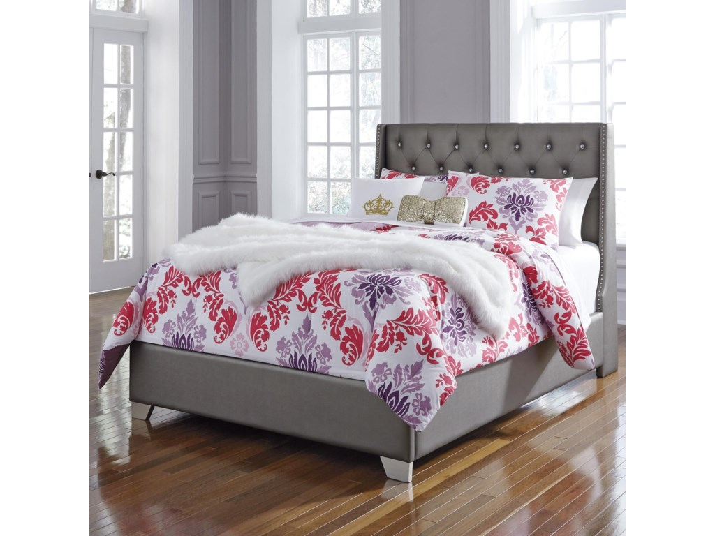 Del Sol AS CoralayneFull Upholstered Bed