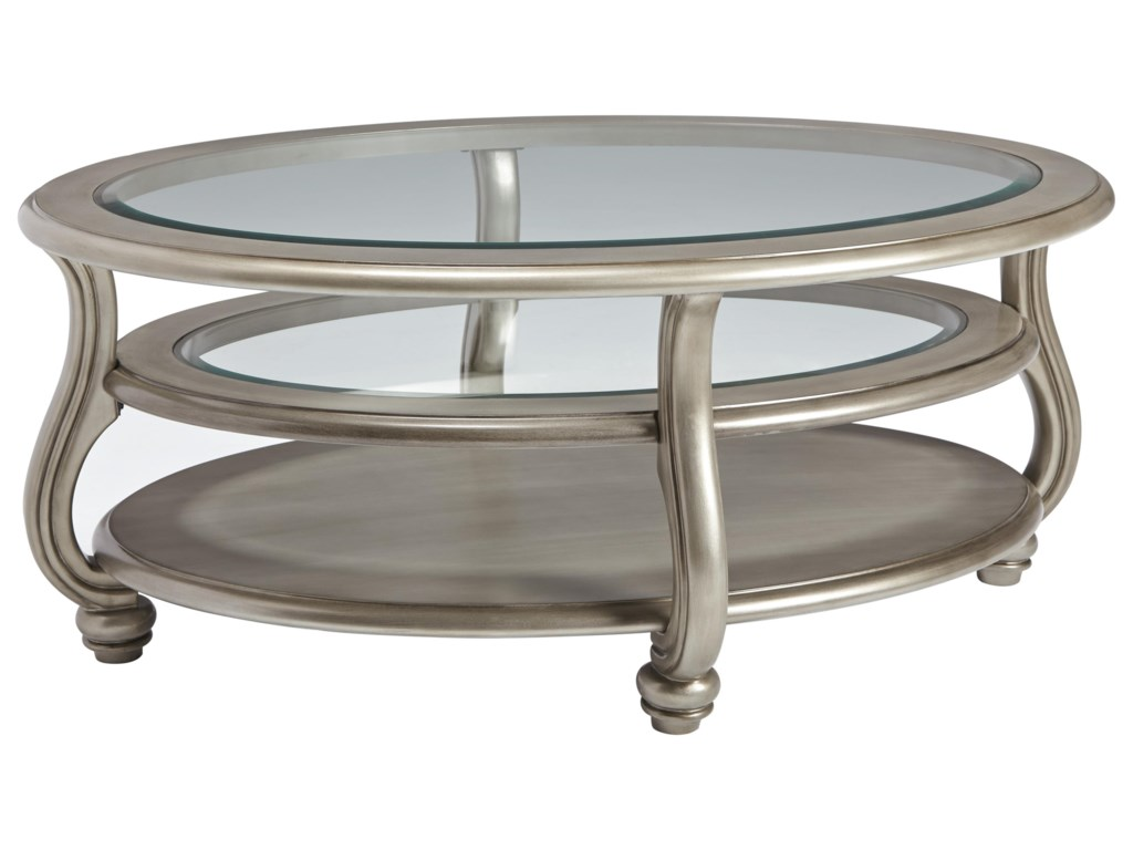 Signature Design by Ashley CoralayneCocktail Table, End Table and Sofa Table Set