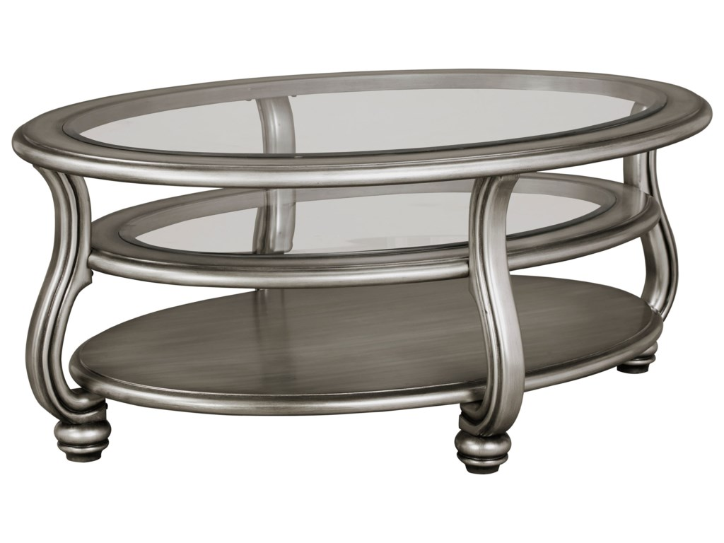 Signature Design by Ashley CoralayneOval Cocktail Table