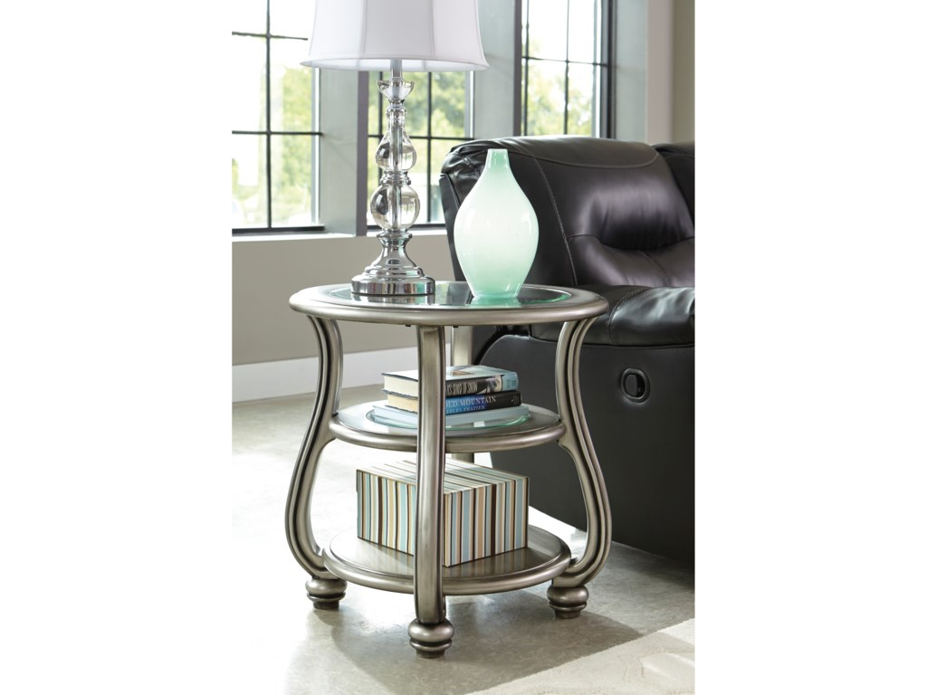 Ashley (Signature Design) CoralayneRound End Table