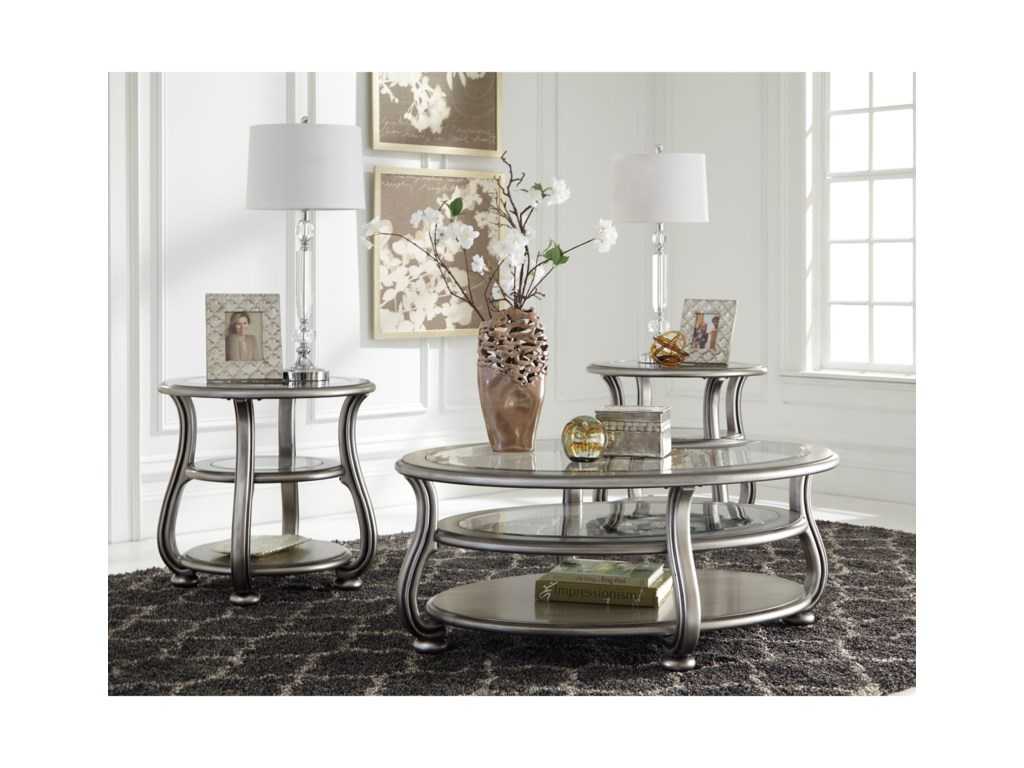 Signature Design by Ashley CoralayneRound End Table