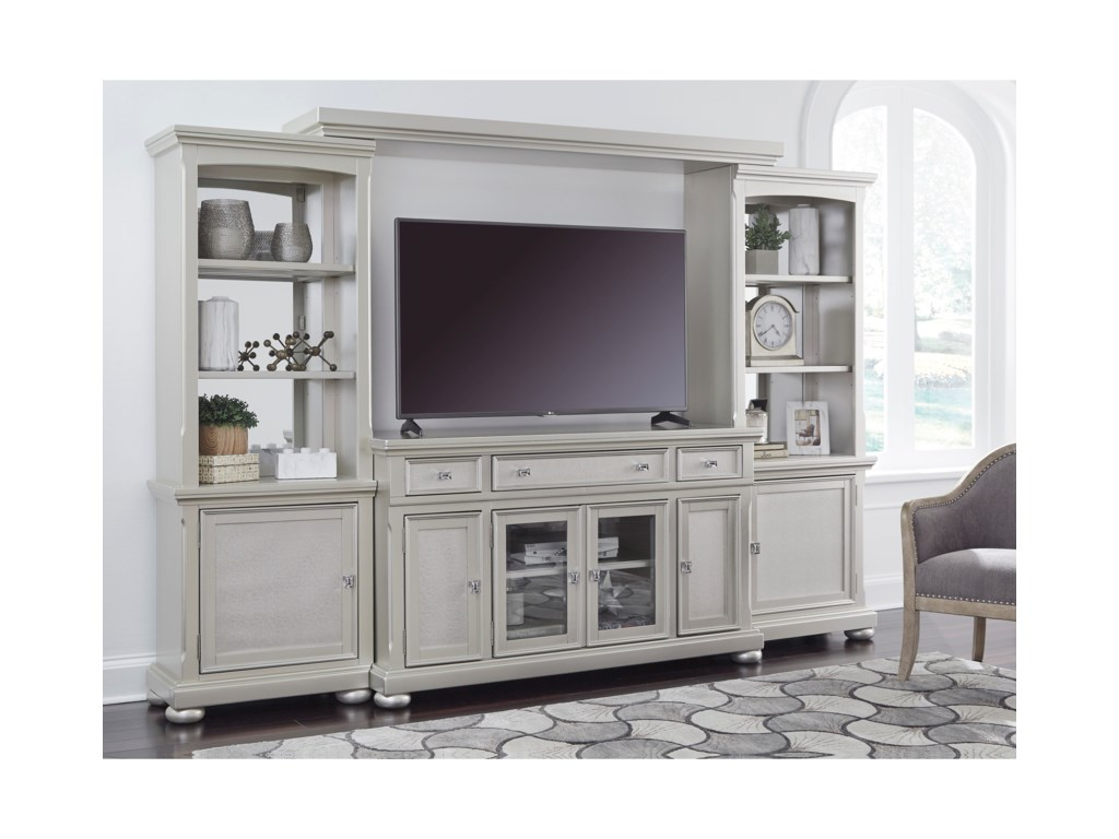 Signature Design by Ashley Coralayne4 Piece Wall Unit