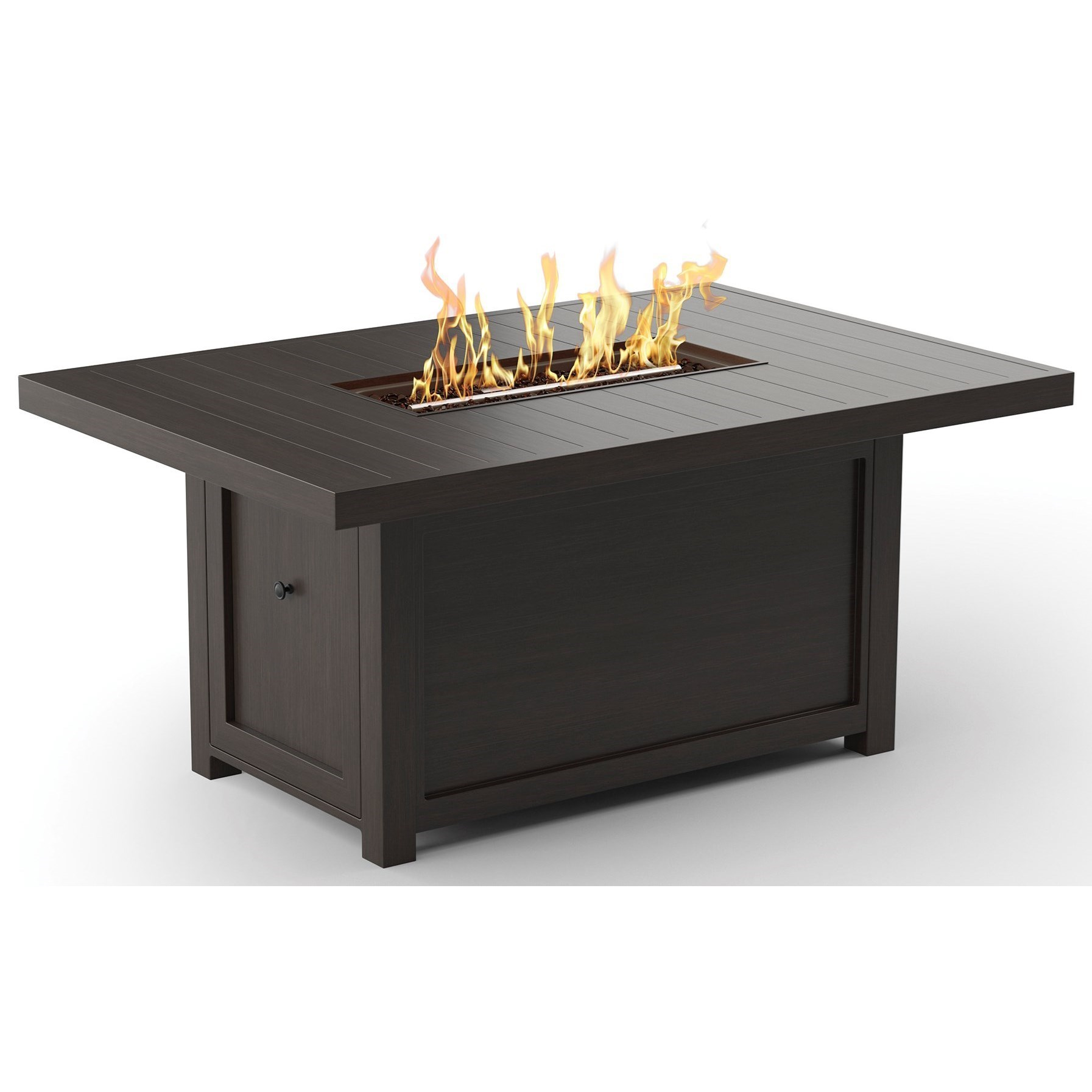Signature Design By Ashley Cordova ReefRectangular Fire Pit Table ...