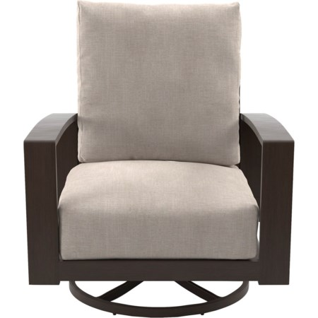 Set of 2 Swivel Lounge Chairs