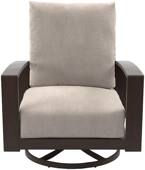 Signature Design by Ashley Cordova Reef Set of 2 Swivel Lounge Chairs with Cushion
