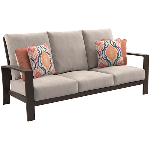 Signature Design by Ashley Cordova Reef Outdoor Sofa with Cushions