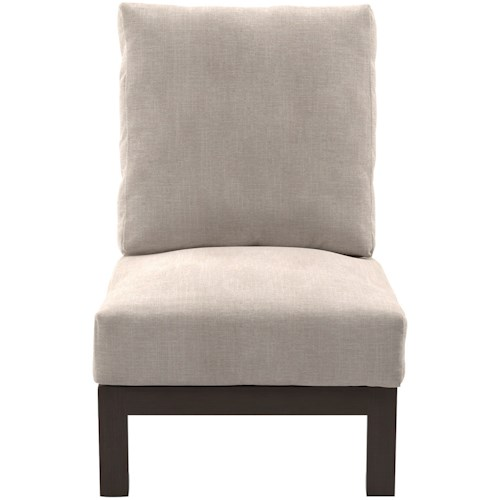 Signature Design by Ashley Cordova Reef Armless Chair with Cushion