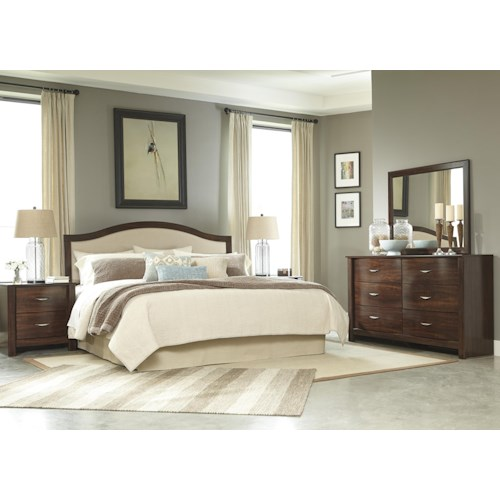 Signature Design by Ashley Corraya King Bedroom Group