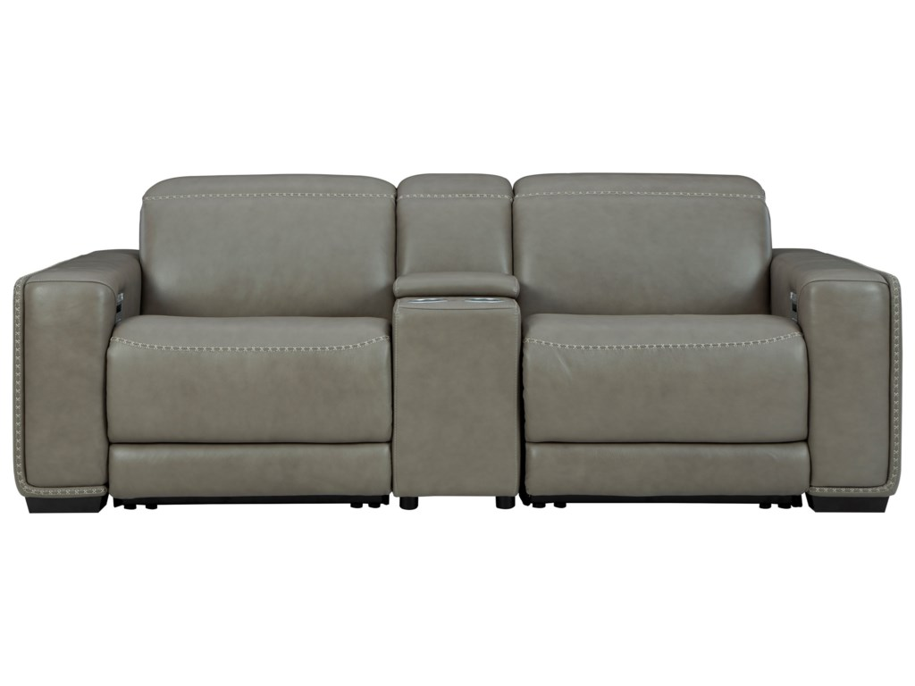 Signature Design by Ashley CorrezePower Reclining Loveseat w/ Console