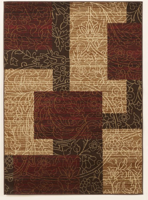 Signature Design by Ashley Cottage Area Rugs Rosemont - Red Medium Rug