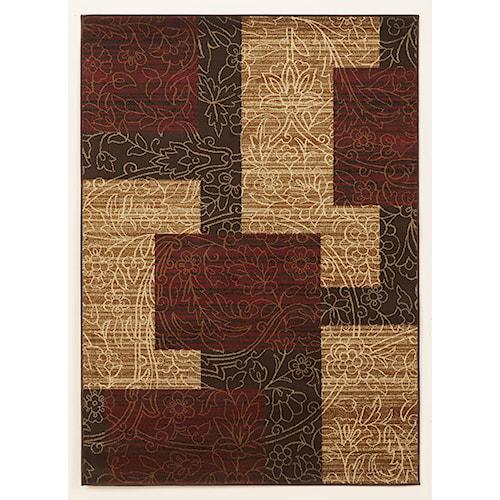 Signature Design by Ashley Cottage Area Rugs Rosemont - Red Medium Rug