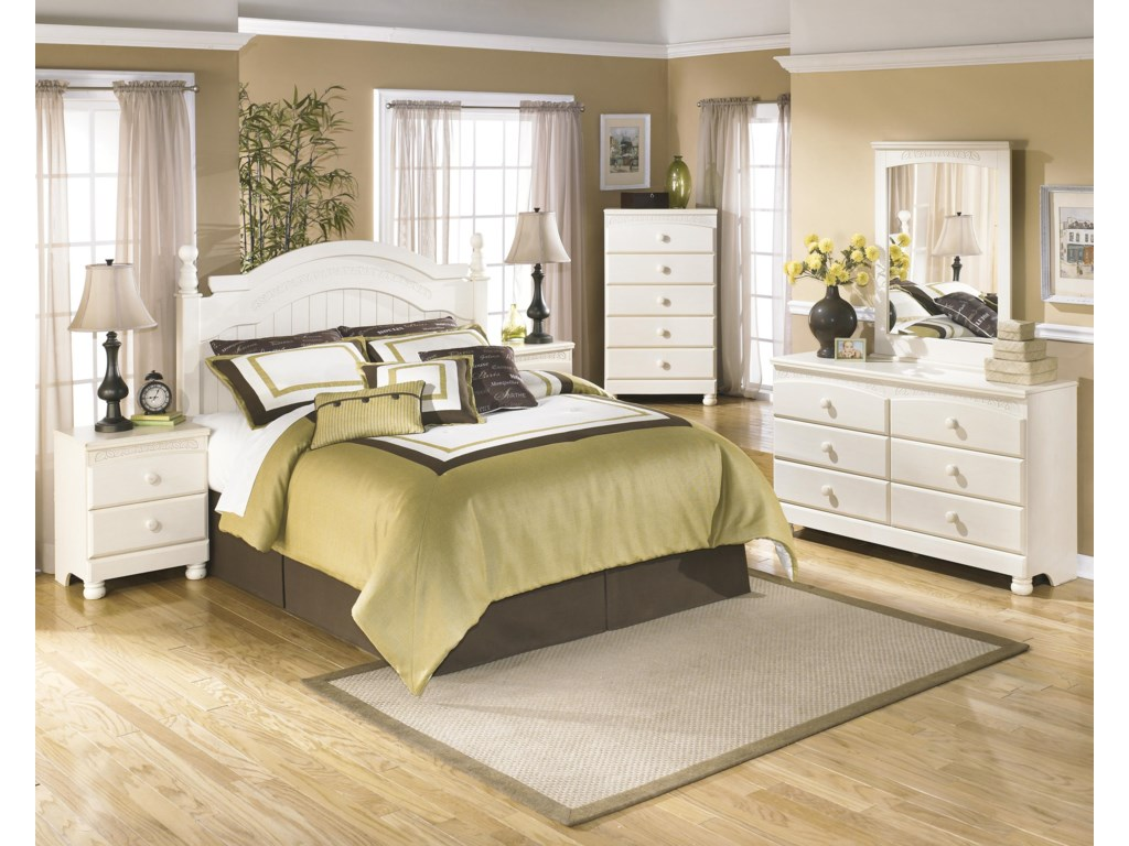 Signature Design by Ashley Cottage RetreatQueen/Full Bedroom Group