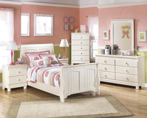 Signature Design by Ashley Cottage Retreat Twin Bedroom Group