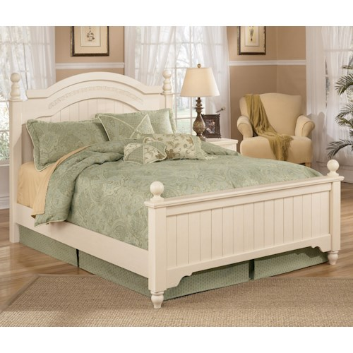 Signature Design by Ashley Furniture Cottage Retreat Full Poster Bed