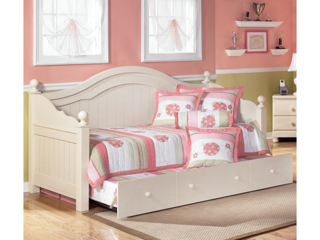 Signature Design by Ashley Cottage RetreatDay Bed with Trundle