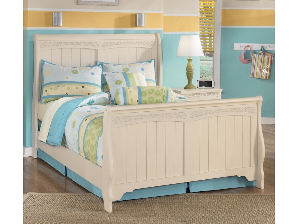 Signature Design by Ashley Cottage RetreatFull Sleigh Bed