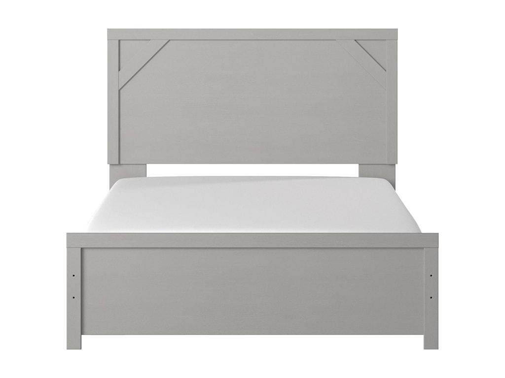 Signature Design by Ashley CottenburgQueen Panel Bed