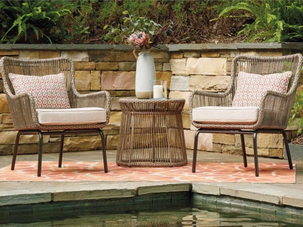 3-Piece Chair and Table Set