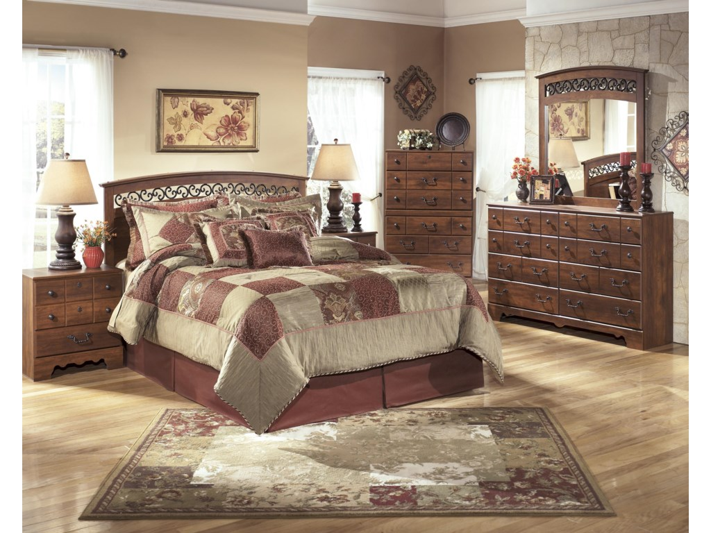 Signature Design by Ashley TimberlineQueen/Full Bedroom Group