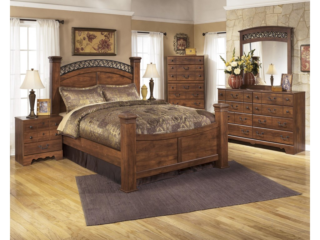 Ashley Signature Design Timberline B258-71+64+77+98+31+36+92 Four ...