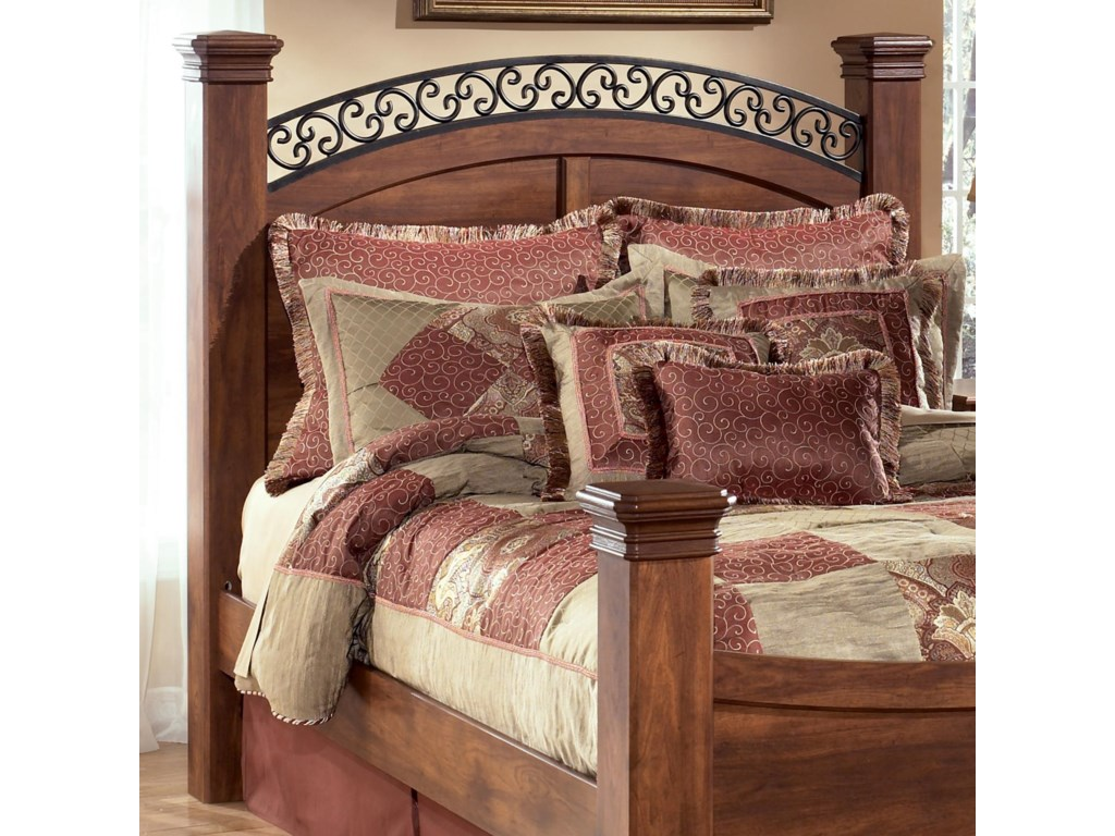 Signature Design by Ashley TimberlineKing Poster Headboard Panel & Posts