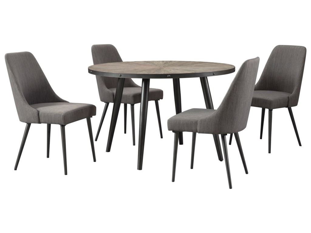 Signature Design by Ashley Coverty5 Piece Table and Chair Set