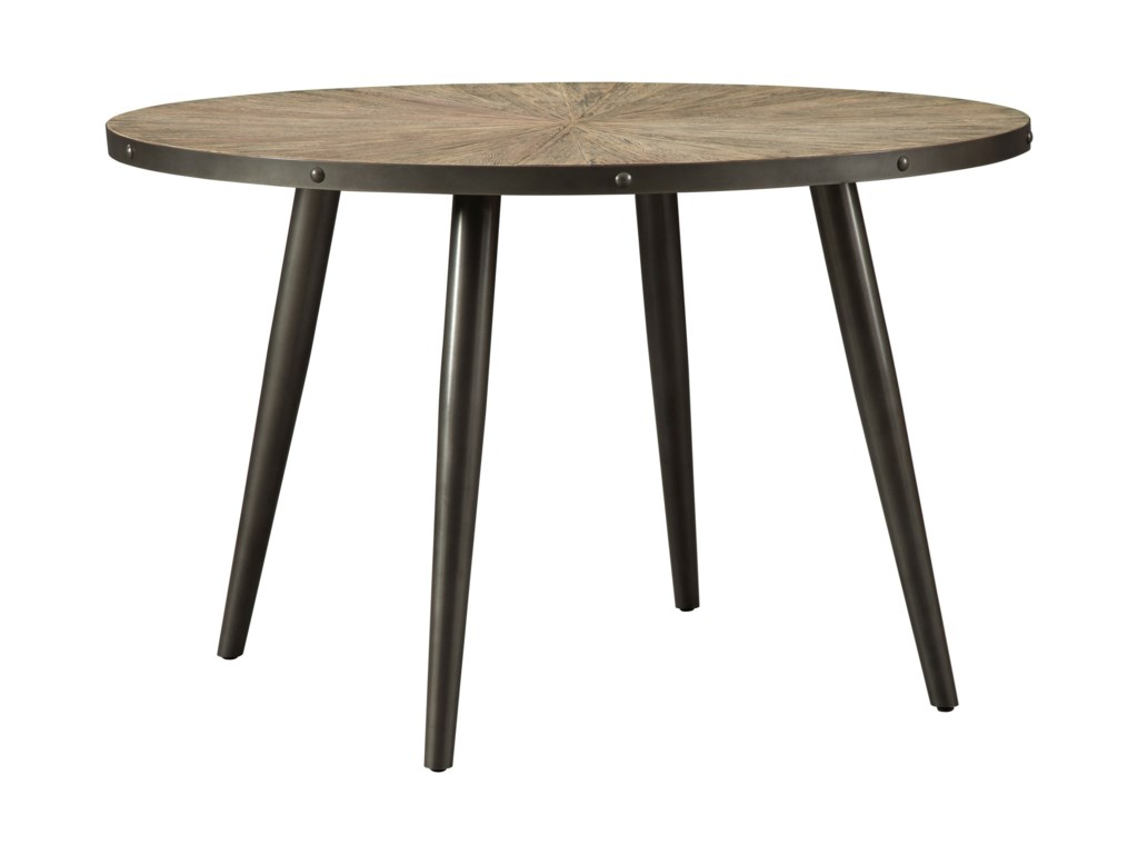 Signature Design By Ashley Coverty Mid Century Modern Round Dining