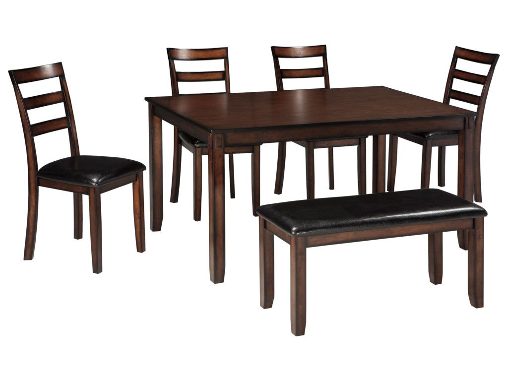 Signature Design by Ashley Coviar6-Piece Dining Room Table Set