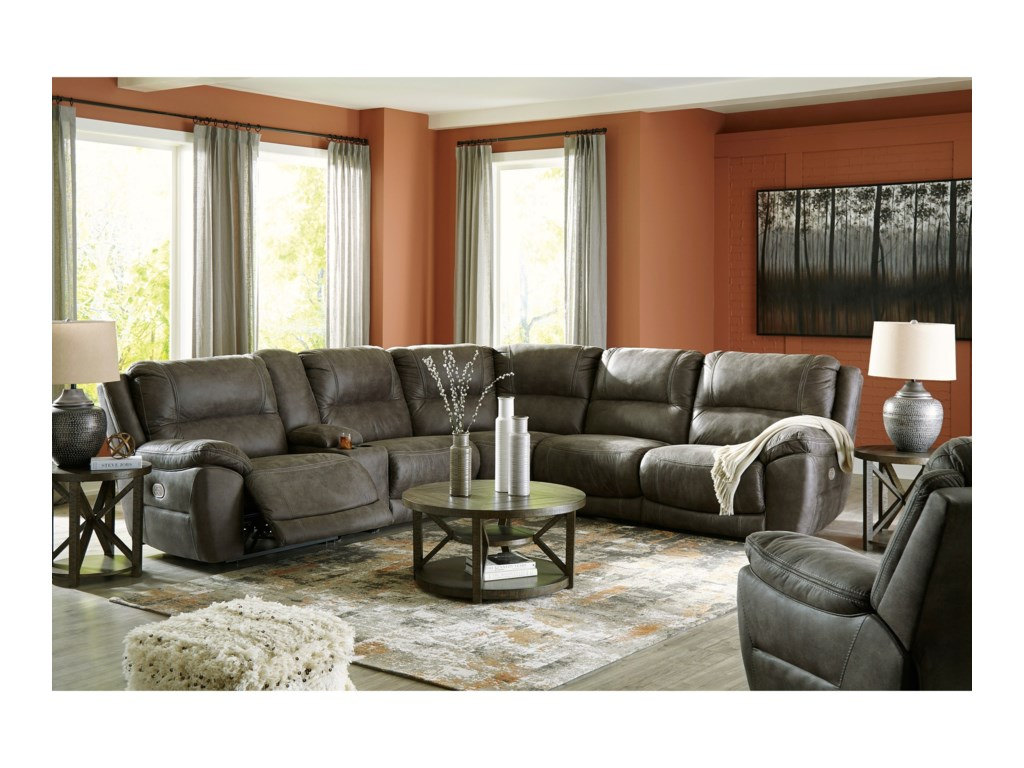 Signature Design by Ashley CranedallPower Reclining Living Room Group
