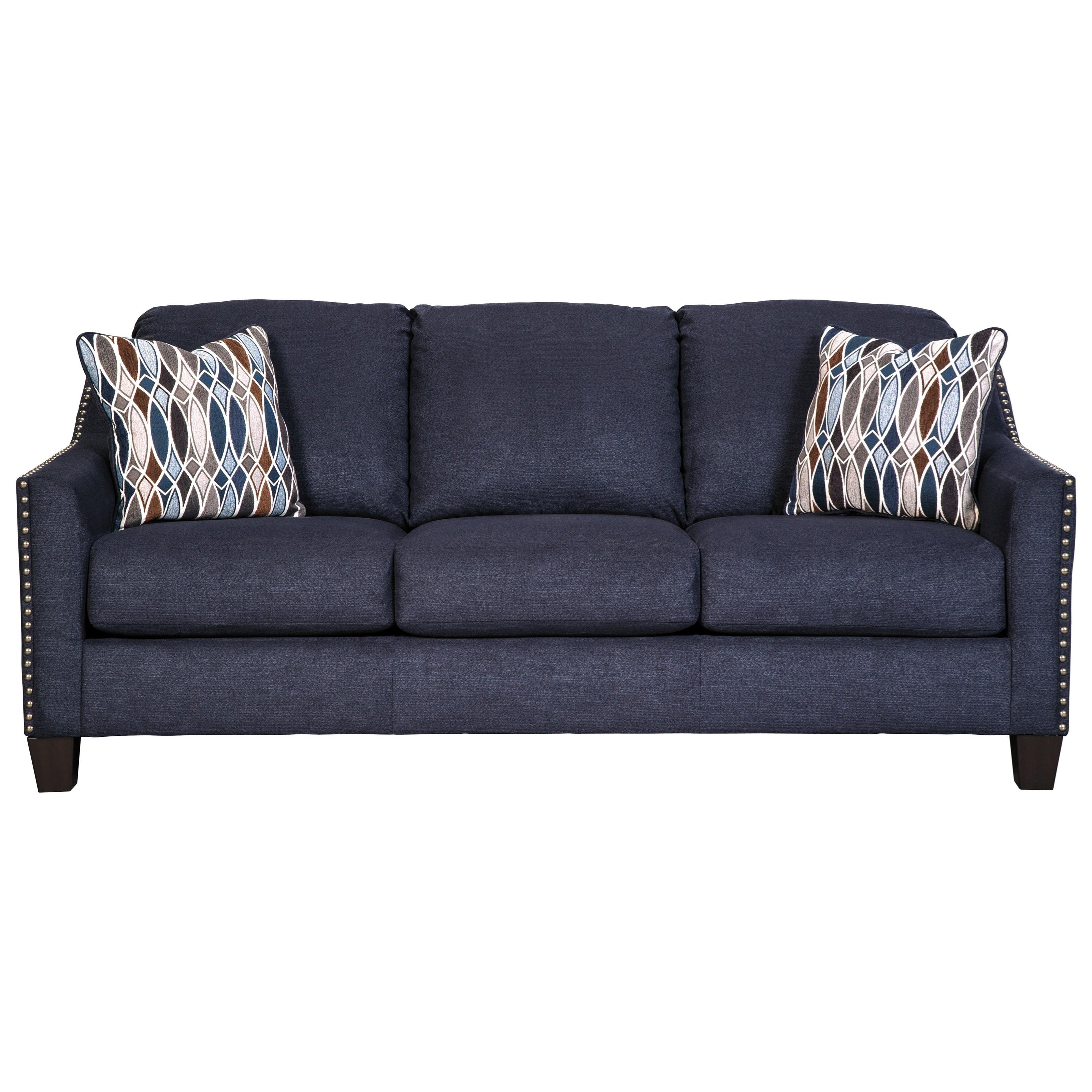 Sofa with Nailhead Studs