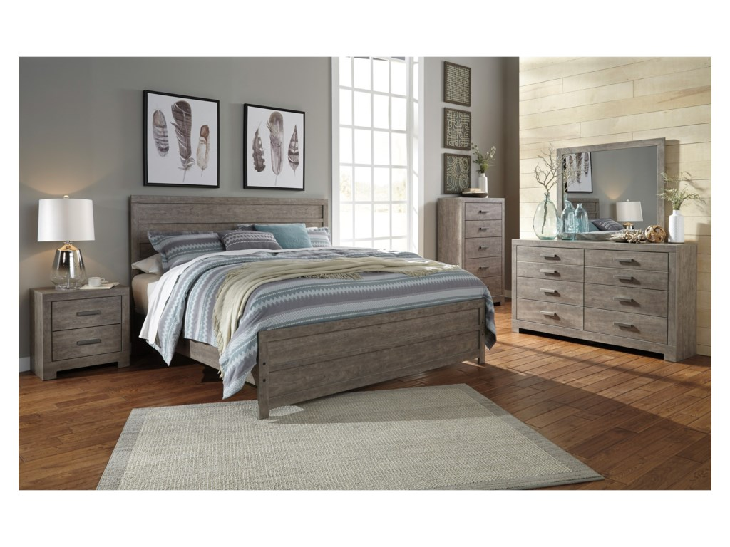 Signature Design by Ashley CulverbachKing Panel Bed