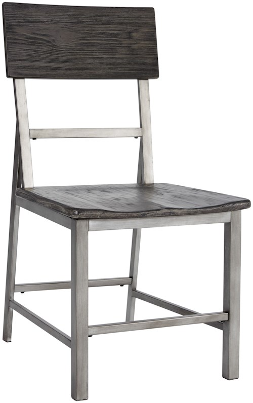 Signature Design by Ashley Raventown Casual Side Chair with a Contoured Seat
