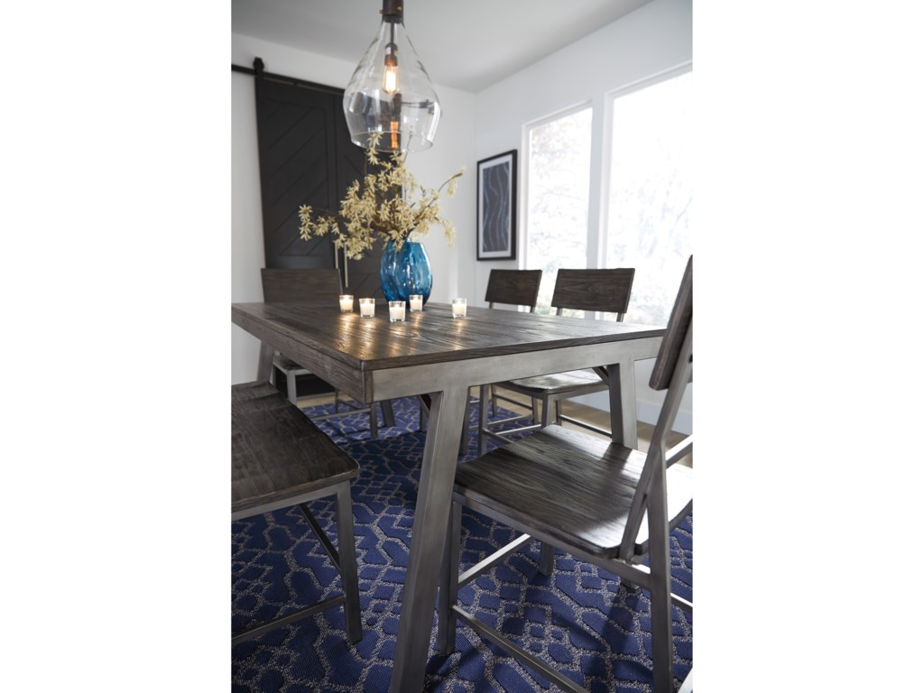 Signature Design by Ashley RaventownDining Set with Double Chair