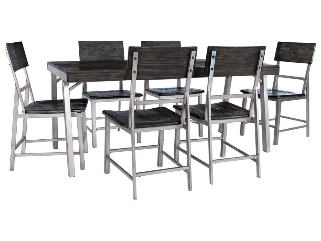 Signature Design by Ashley Raventown7 Pc Dining Set