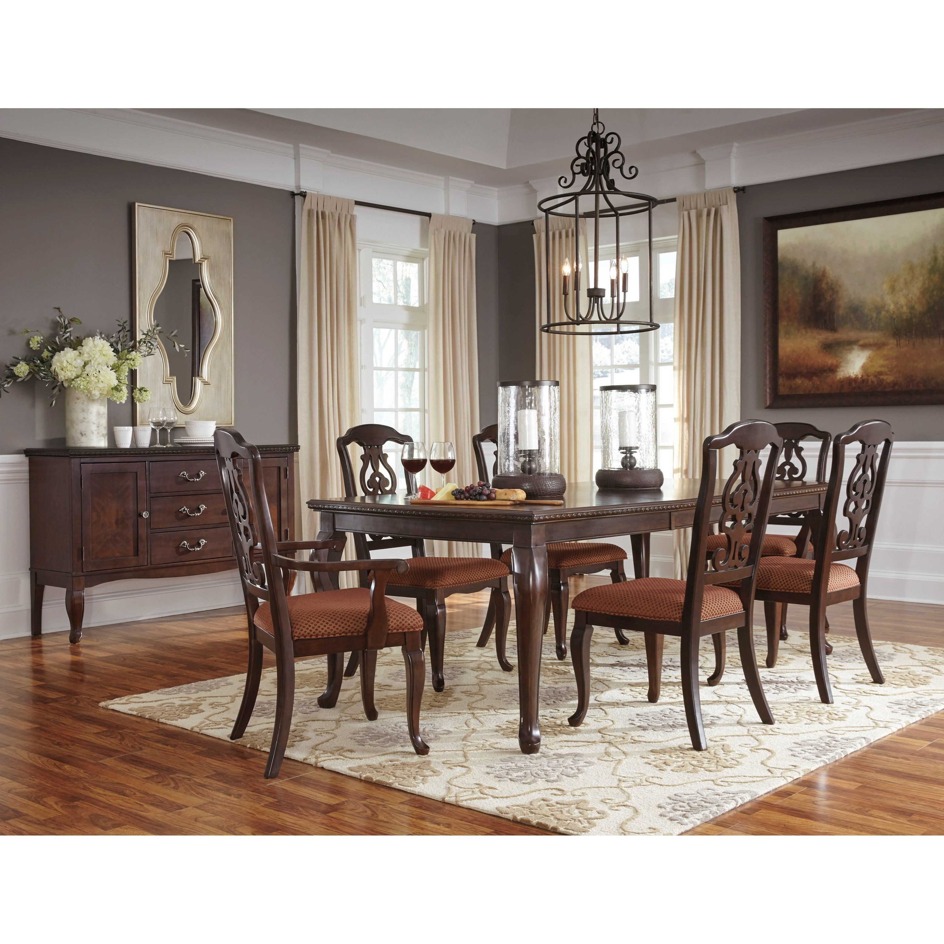 Signature Design By Ashley Gladdenville Formal Dining