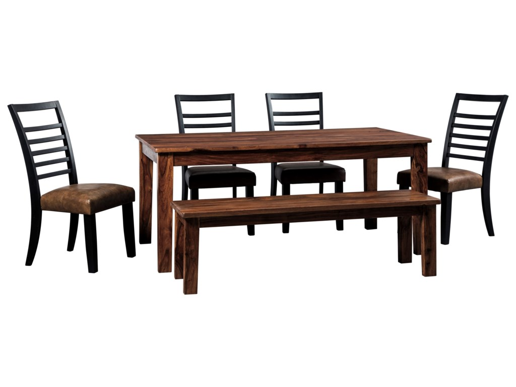 Signature Design by Ashley ManishoreTable & Chair Set with Bench