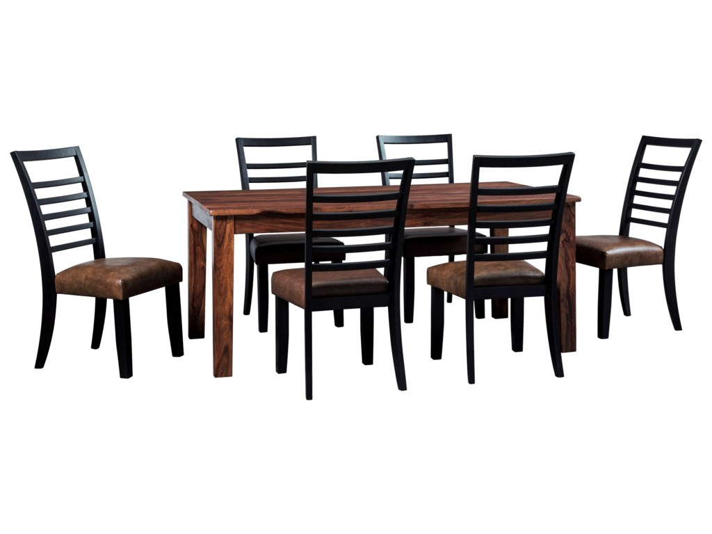 Signature Design by Ashley Manishore7-Piece Table & Chair Set