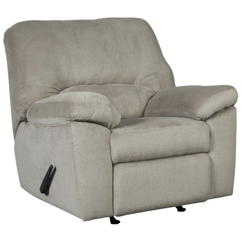 Signature Design by Ashley Dailey Casual Contemporary Rocker Recliner