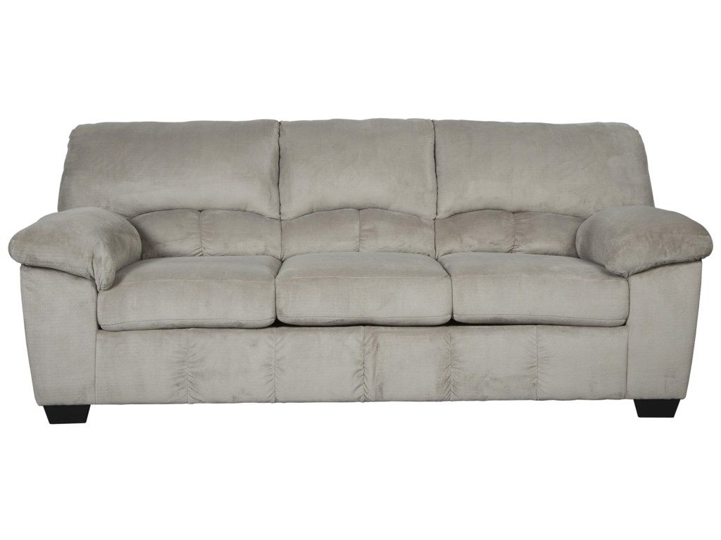 Signature Design by Ashley Dailey Casual Contemporary Full Sofa ...