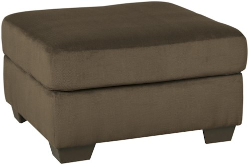 Signature Design by Ashley Dailey Contemporary Oversized Accent Ottoman