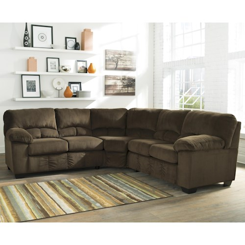 Signature Design by Ashley Dailey Casual Contemporary Corner Sectional