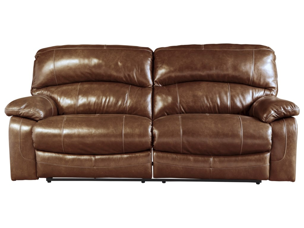 Signature Design by Ashley Damacio - Harness2 Seat Reclining Power Sofa
