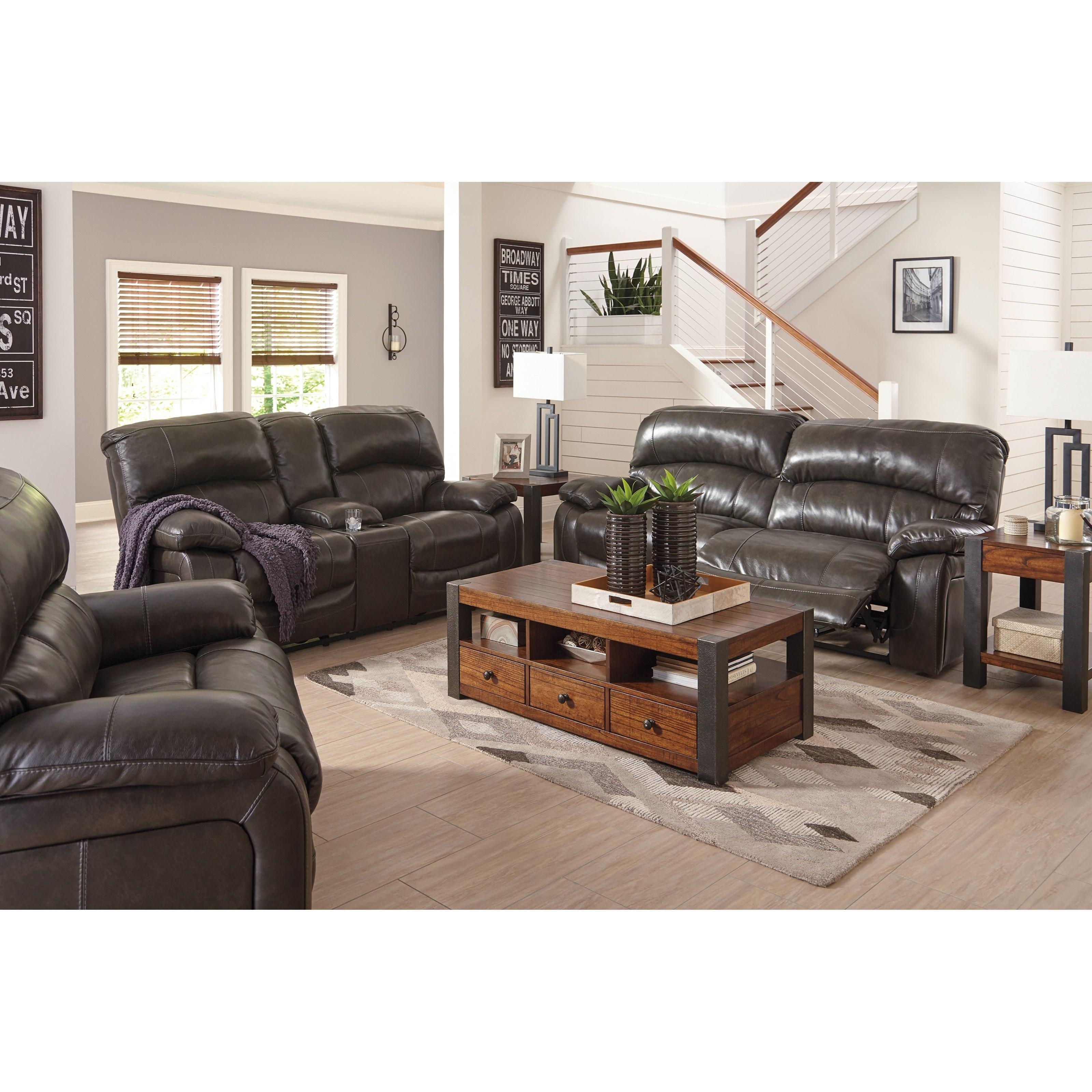 Marvelous Signature Design By Ashley Damacio   Metal Reclining Living Room Group Photo