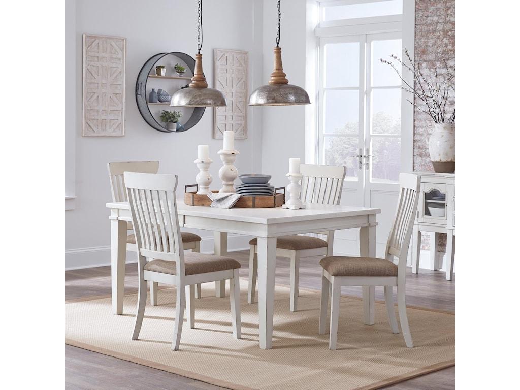 Ashley (Signature Design) Danbeck5-Piece Rectangular Table Set