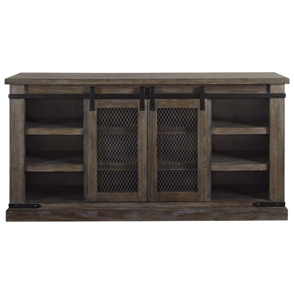 Signature Design By Ashley Danell Ridge 60 Rustic Tv Stand With