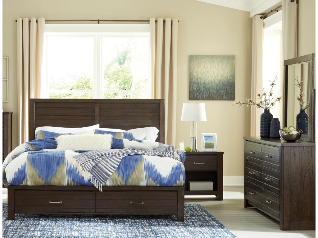 Signature Design by Ashley DarbryCalifornia King Bedroom Group