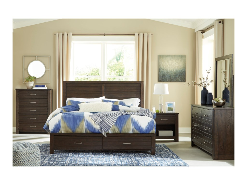 Signature Design by Ashley DarbryQueen Bedroom Group